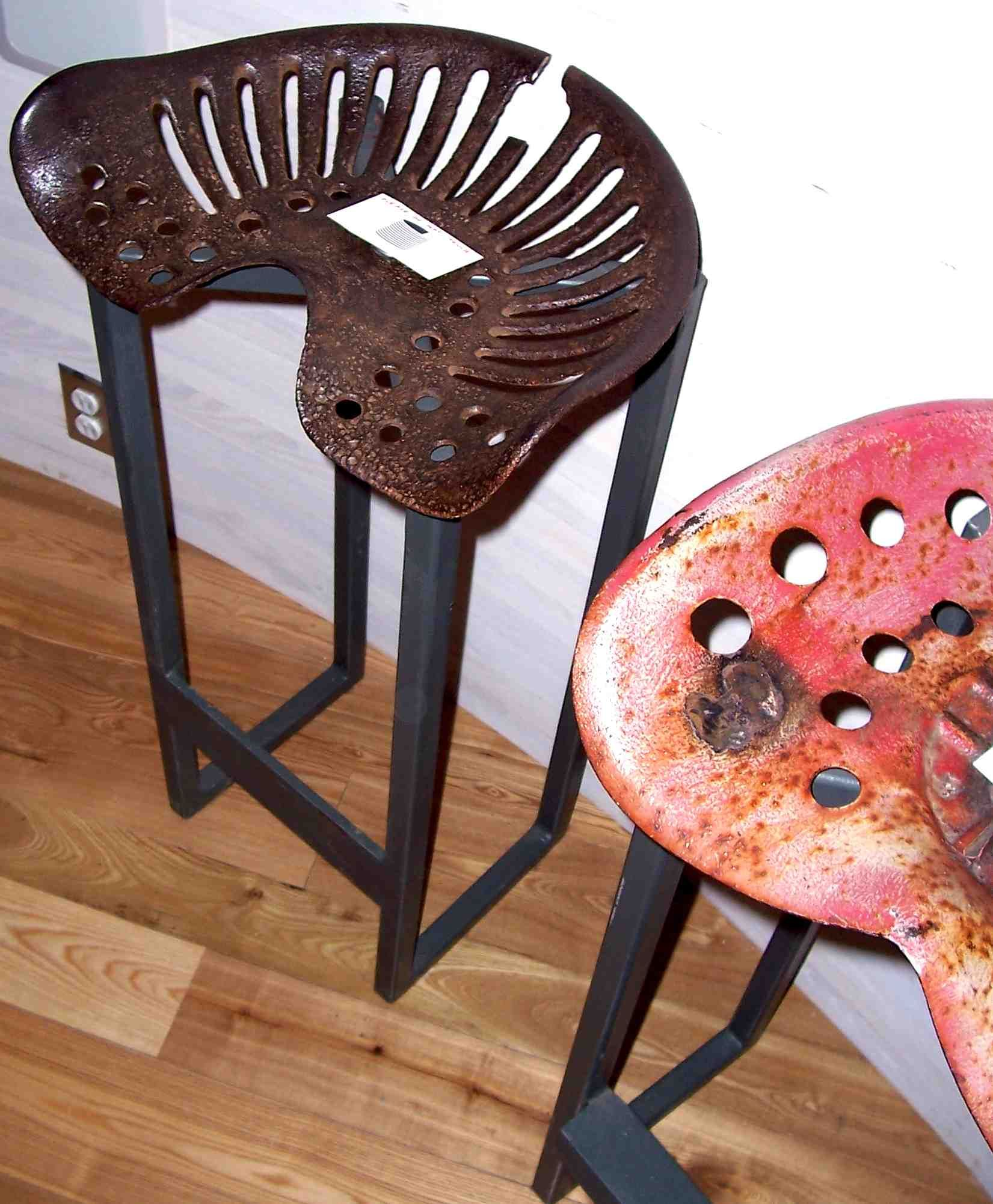 bar stools Tractor seat stool, Stool, Tractor seats