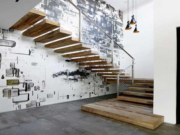 Cage d\'escalier : 20 idées déco pour un bel escalier