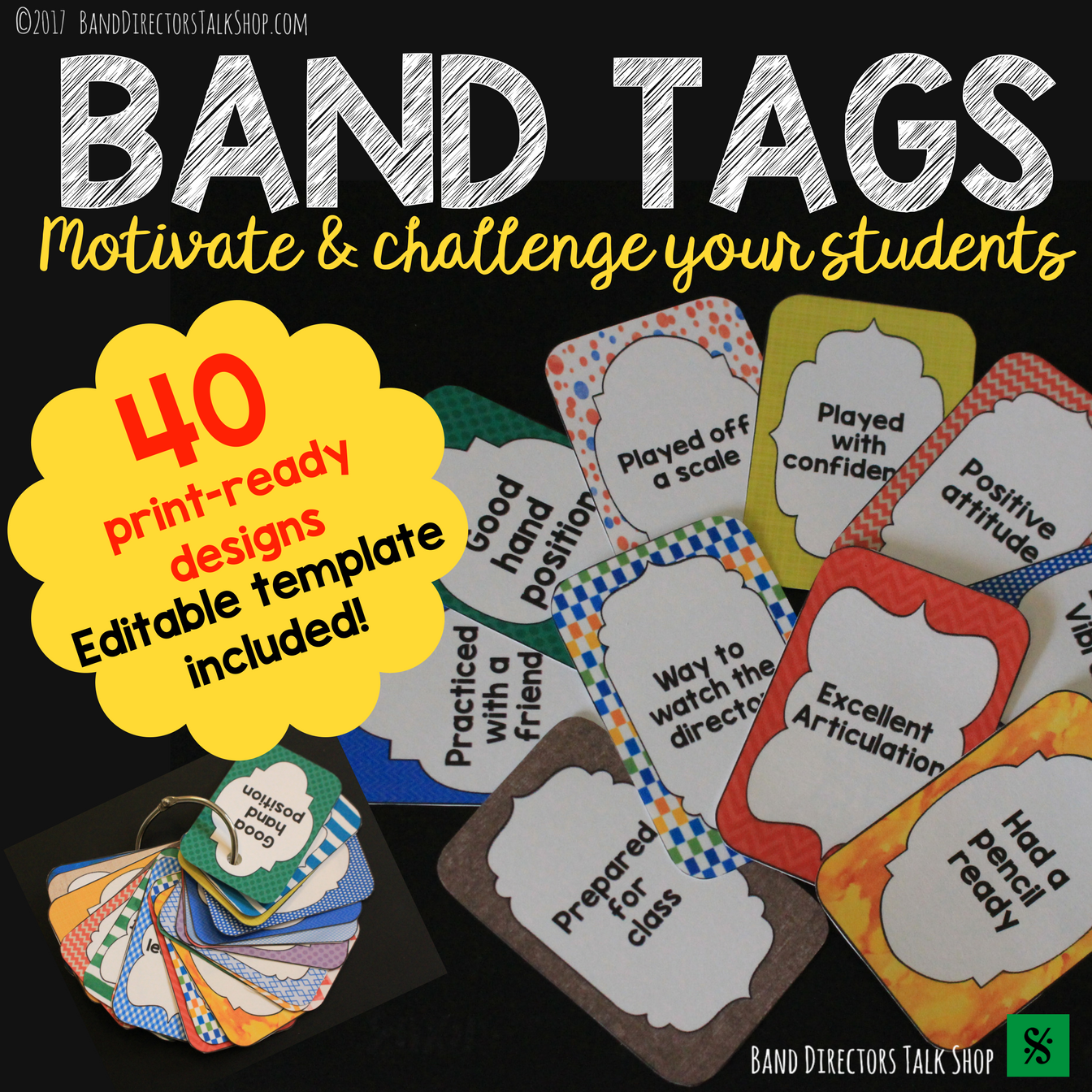 Band Tags For Beginning Band Motivation With Images