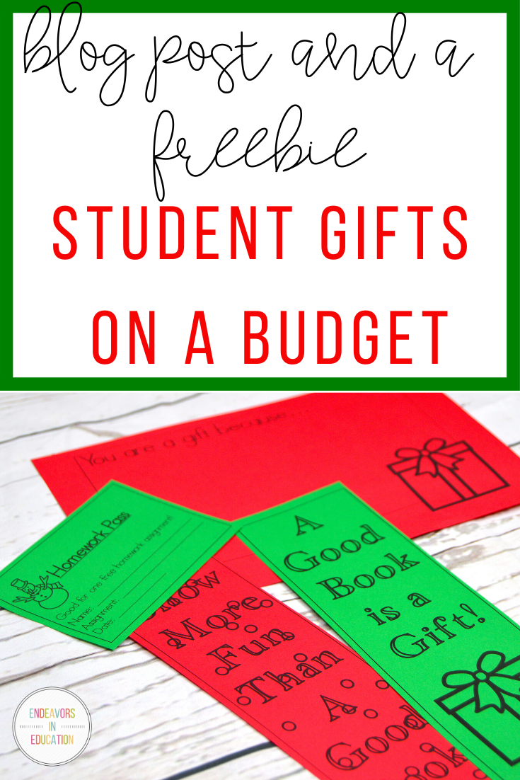Gifting your Students on a Budget Student gifts, Holiday