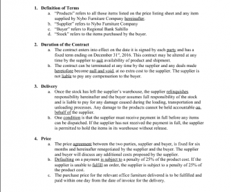 Contract Agreement  Stuff To Buy    Grammar Worksheets