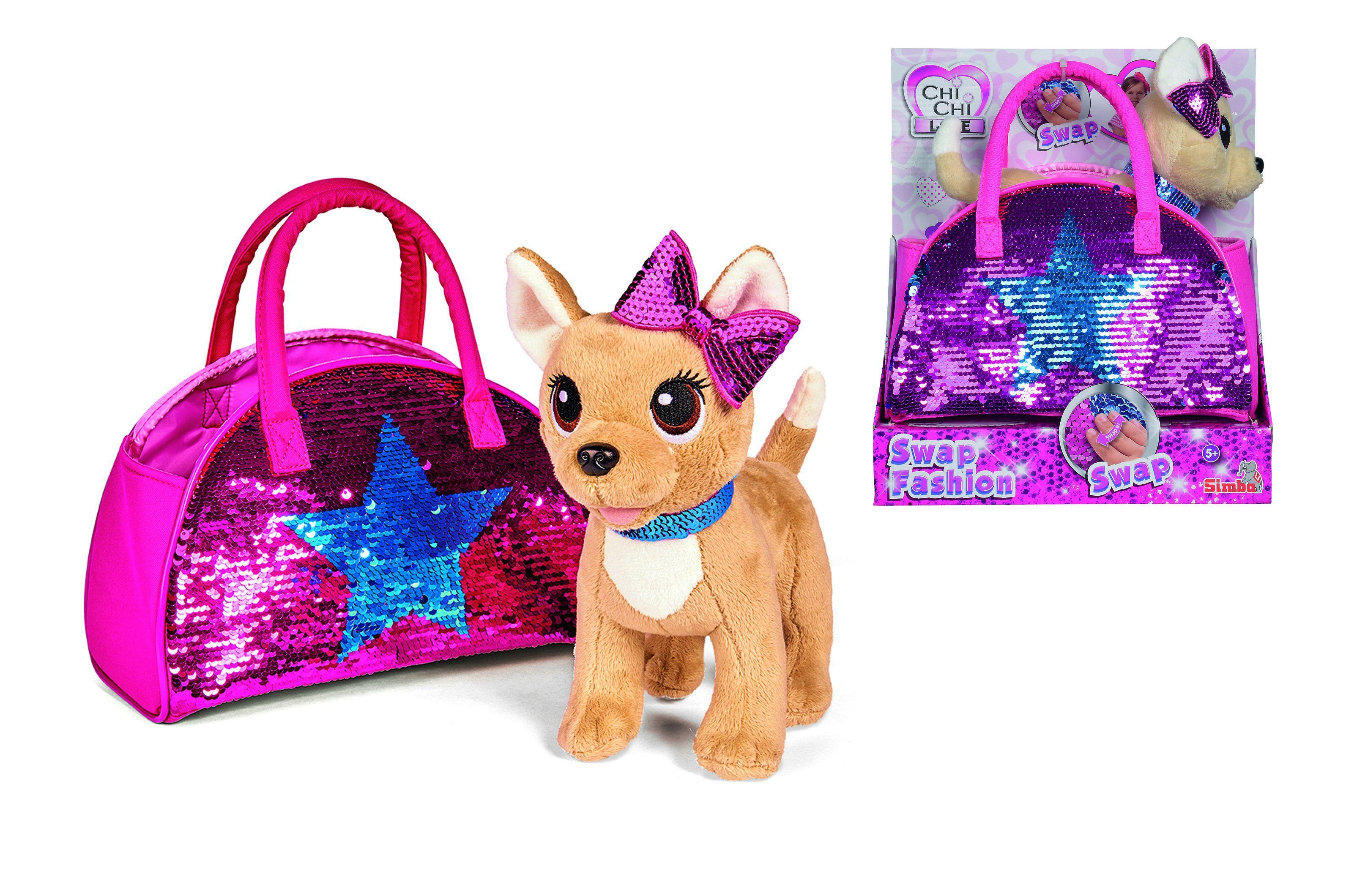 Simba Chi Chi Love Piesek Cekinowa Gwiazda Brykacze Pl Sklep Z Zabawkami Chi Chi Simba Chihuahua