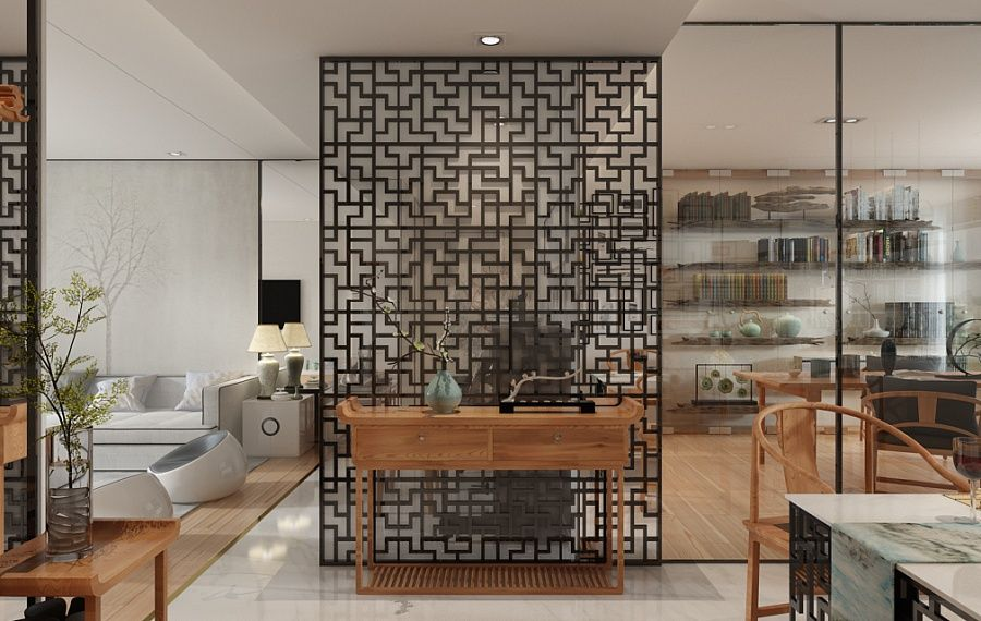 Décoration zen dans un intérieur déco et design   Découpe LASER ...