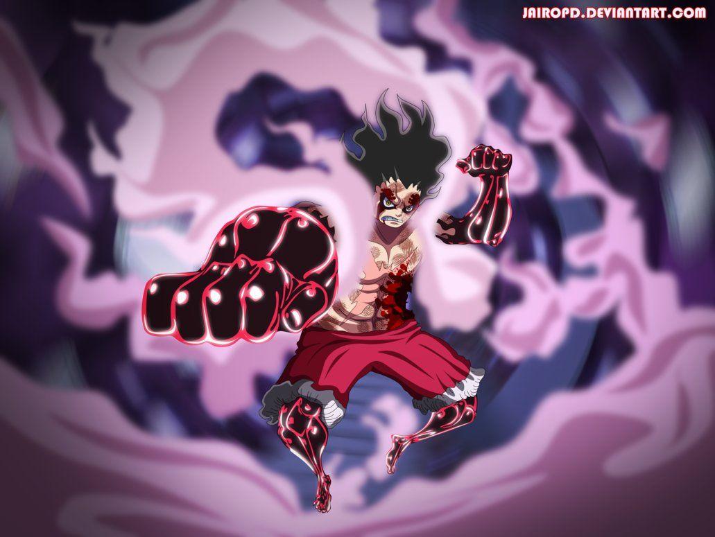 Luffy Gear 4 Snake Man One Piece Manga 895 By Jairopd Luffy Gear 4 One Piece Manga One Piece Man