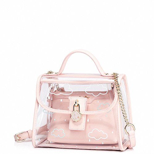 Leather  Cute Bucket Bag  Shoulder Bag Womens   PVC