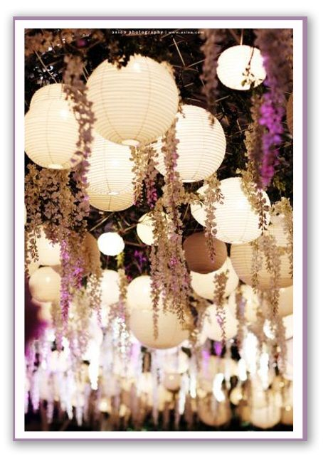 Lampion Garden My Bohemian Chic Wedding Idea Pinterest
