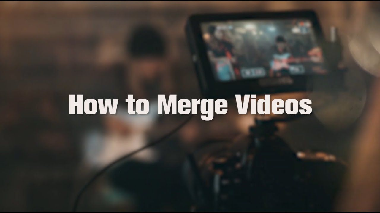 How To Merge Videos In 3 Ways Minitool Moviemaker Videos Video Editing Merge