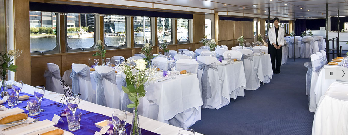 Simply The Best Wedding Cruises In Melbourne Stylish Lady Cutler Is Elegant