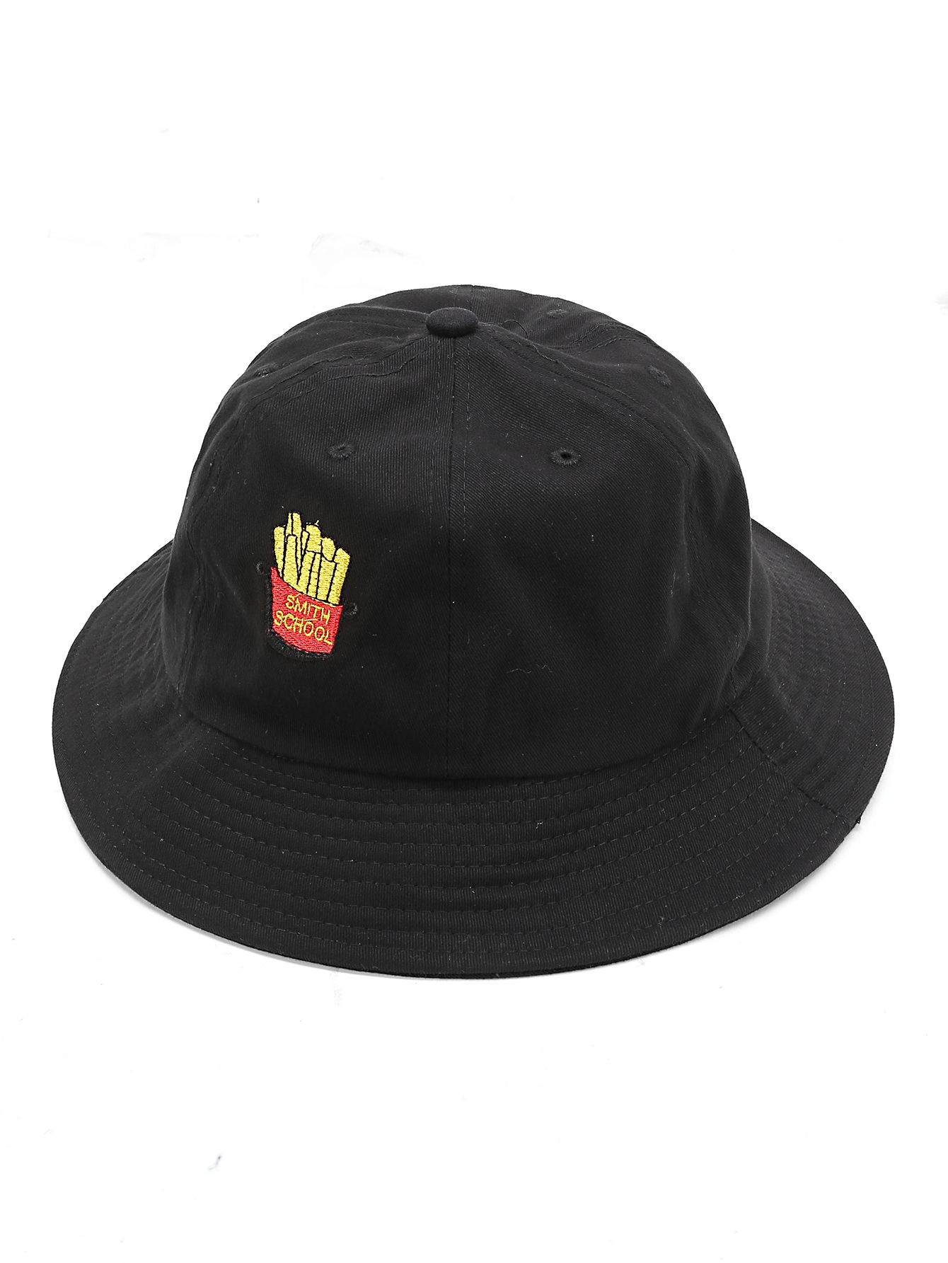 c322163c00e Shop French Fries Embroidery Bucket Hat online. SheIn offers French Fries  Embroidery Bucket Hat   more to fit your fashionable needs.