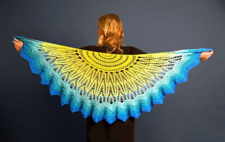 Tuch Sonne und Meer #clothpatterns