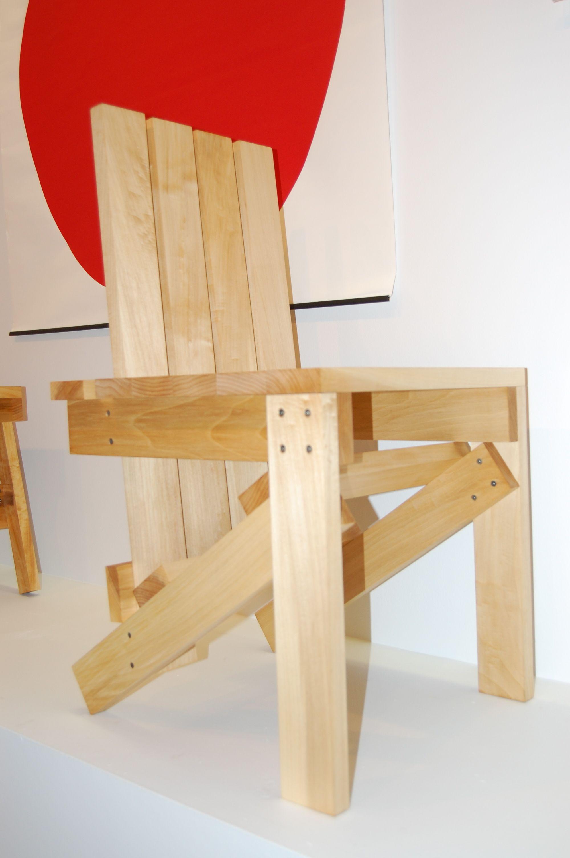 Superb Enzo Mari Medium Member Chair