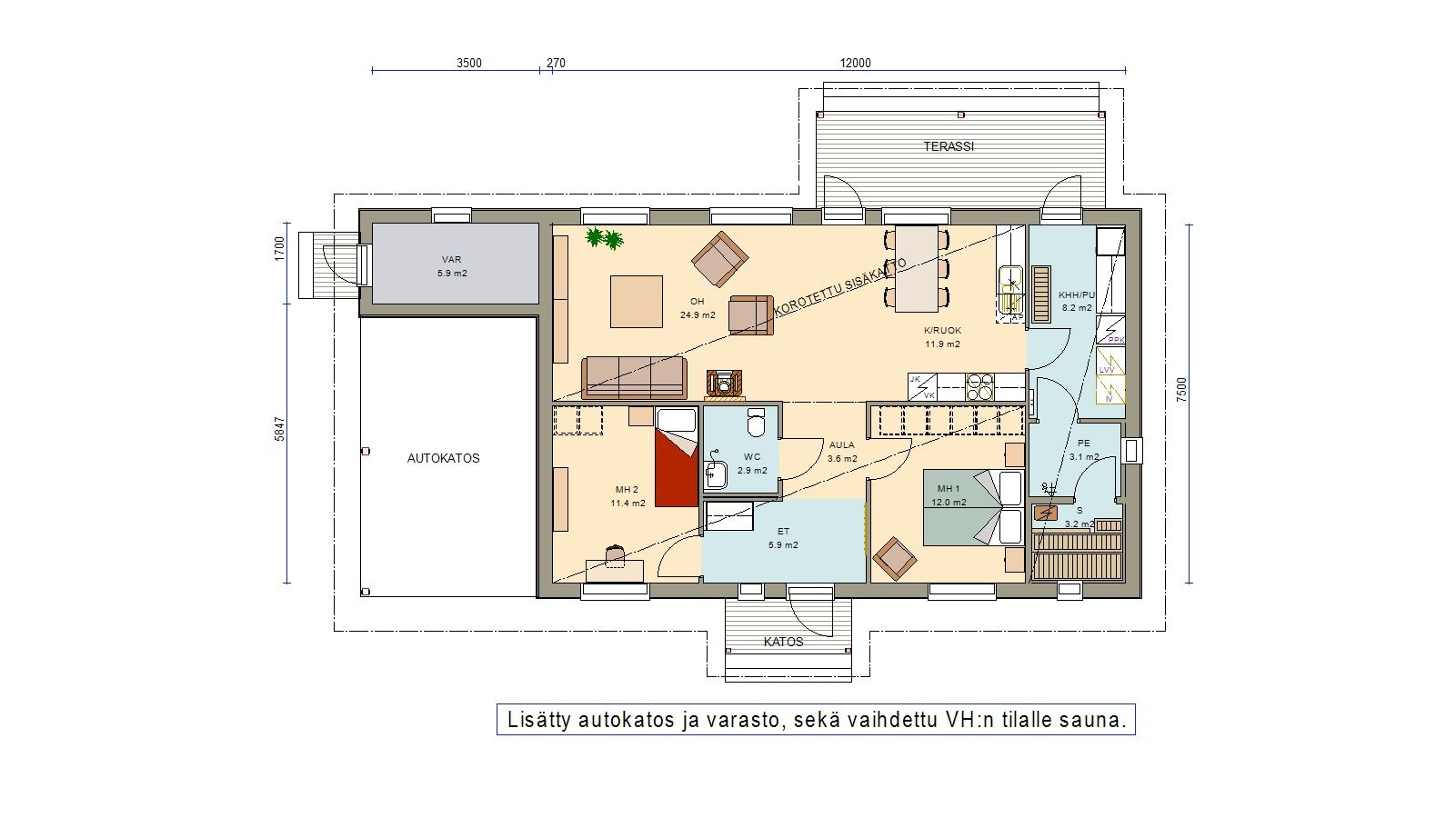 Verso 90 104 Pulpetti House Plans Coach House Floor Plans