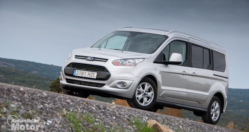 Prueba Ford Tourneo Connect TDCi 115 CV Exterior E Interior