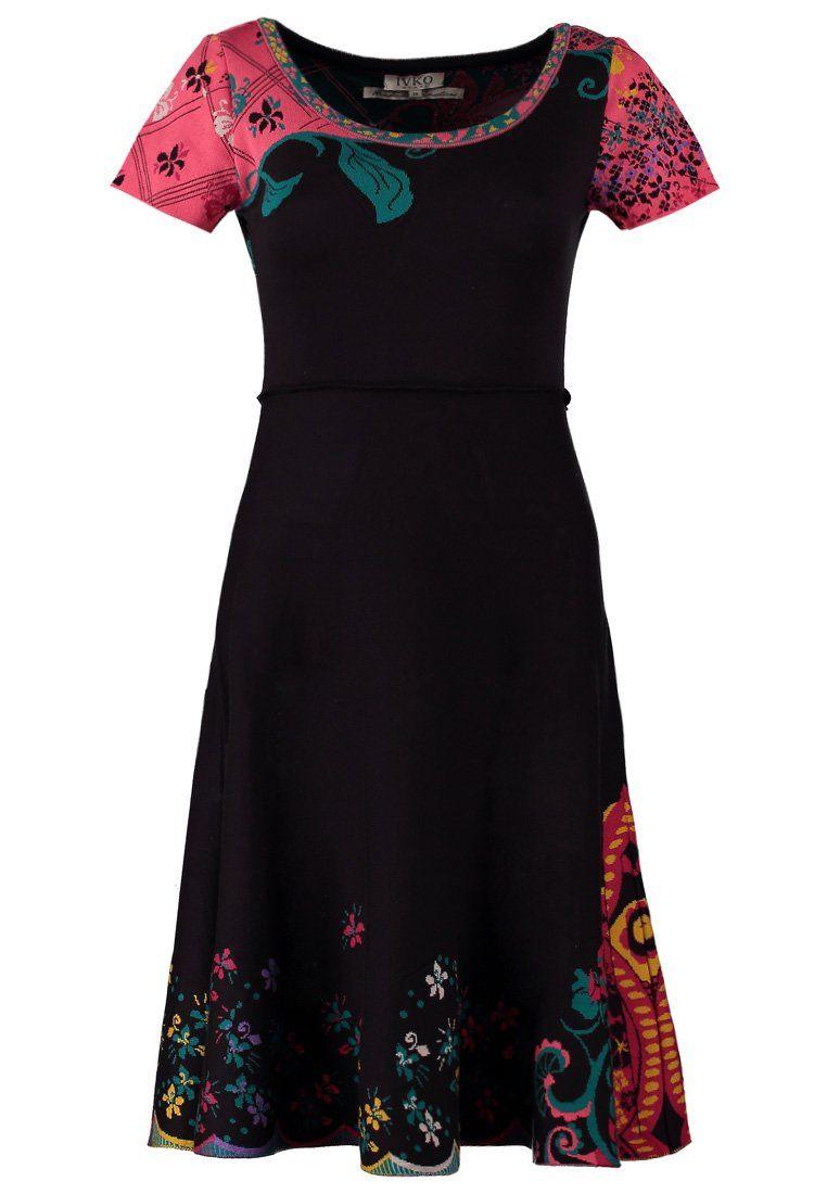 Ivko - Strikket kjole - sort