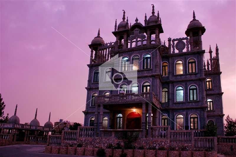 متحف المقر التراثي في قرية المقر السياحية بالباحة House Styles Mansions Building