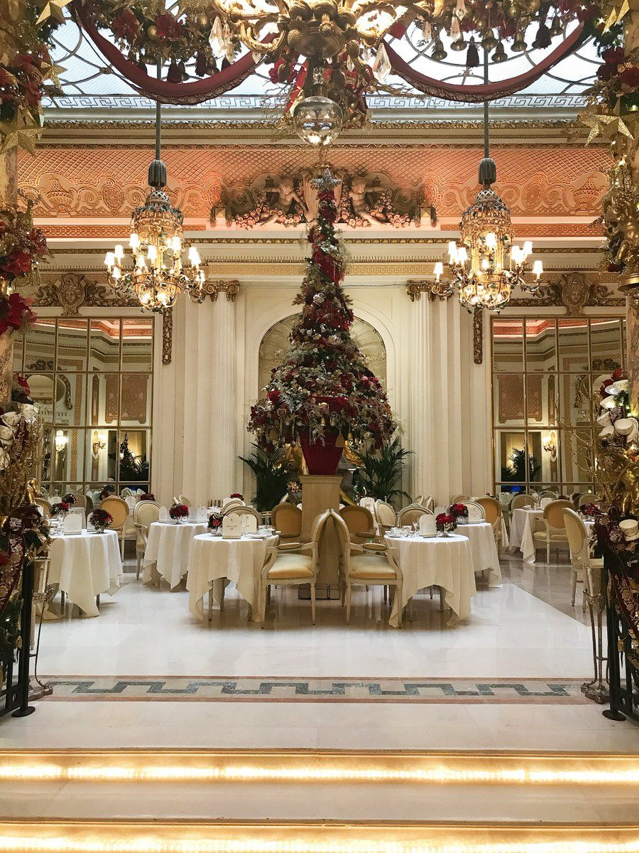 "The Ritz London on Twitter ""We are Christmas"
