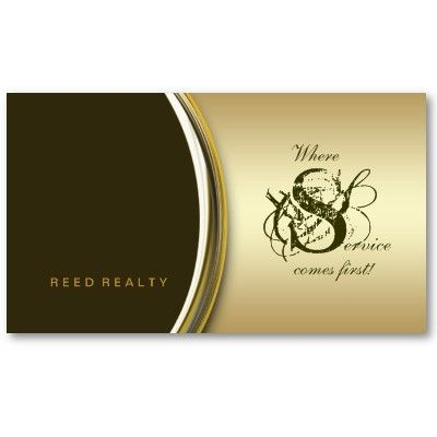 Real estate metal business card gold green all kinds of business business cards real estate metal business card gold green reheart Choice Image