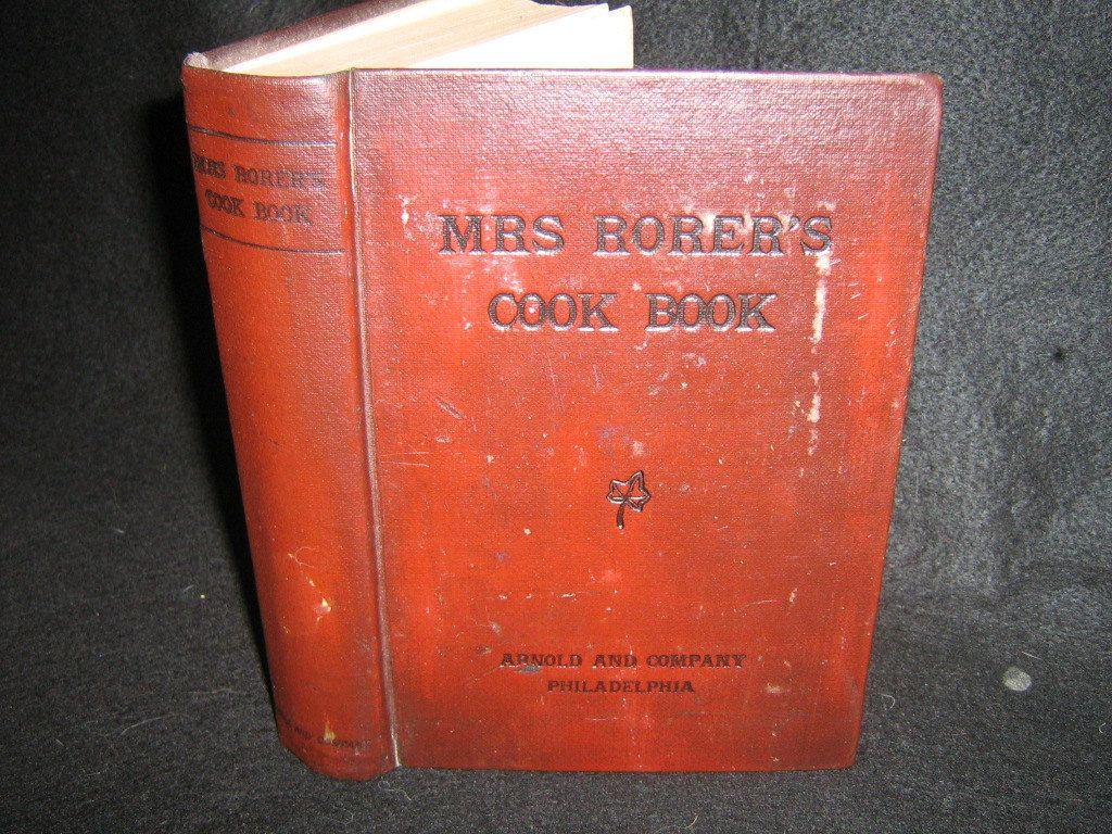 Cook book1886 usa mrs rorers philadelphia cook book