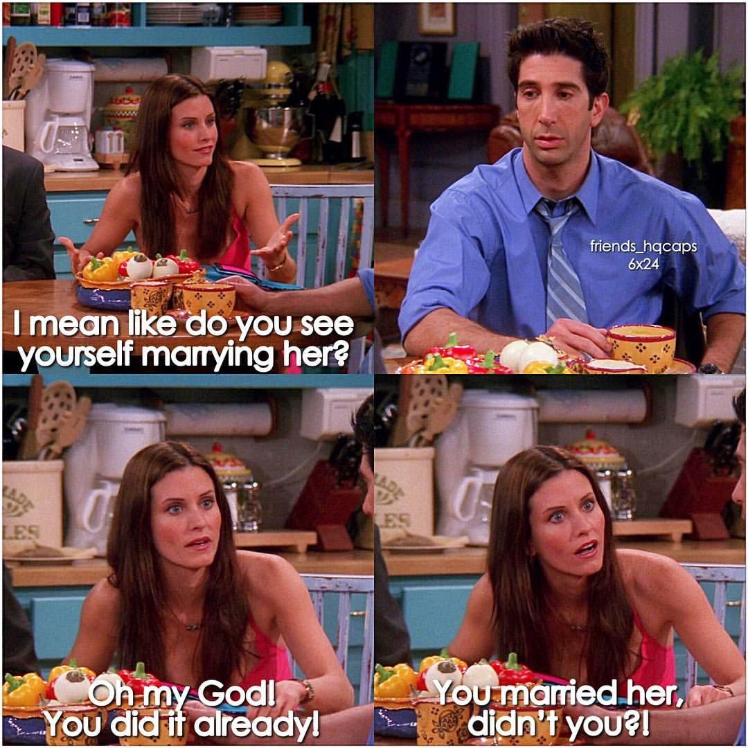 Ross Is A Trash Character Friends Tv Friend Memes Friends Forever