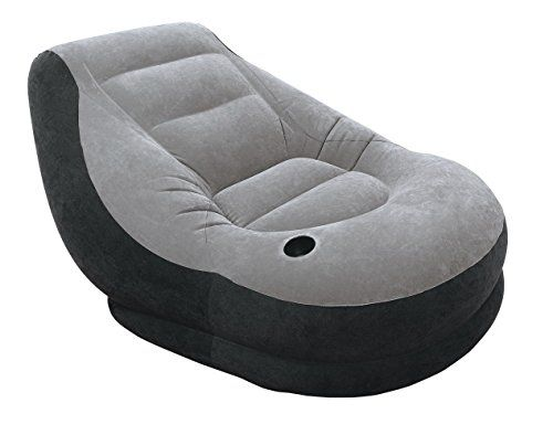INTEX Gonflable Meubles Ultra Lounge, Gris, 99 x 130 x 76 cm