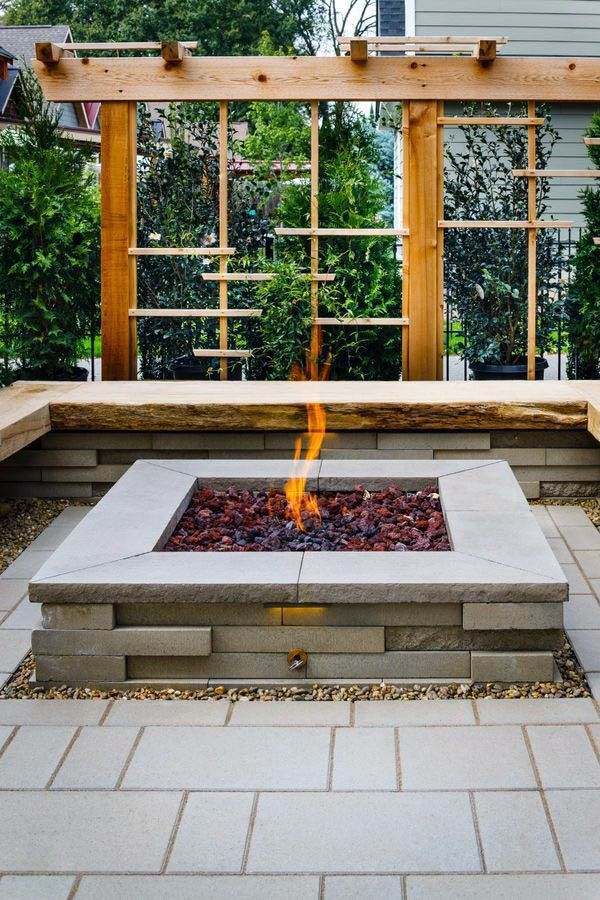 Extraordinary diy inground fire pit ideas just on interioropedia home design (With images ...
