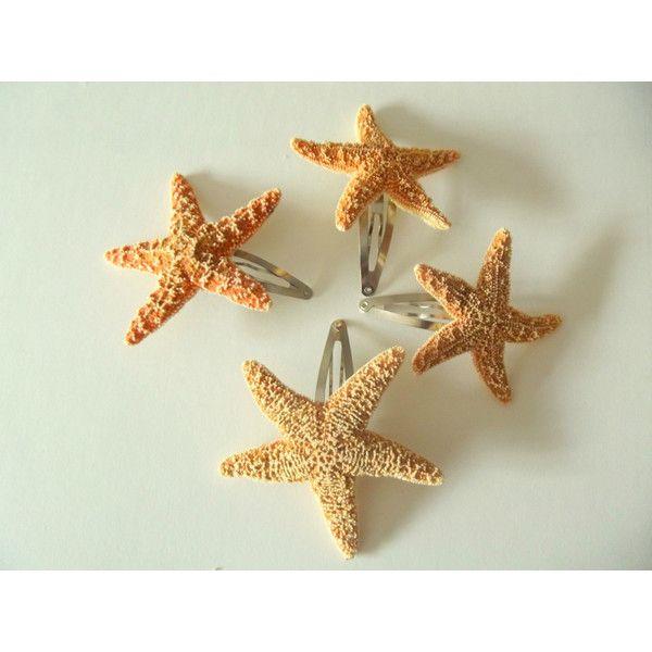Starfish Hair Clip Mermaid Accessory ($12)