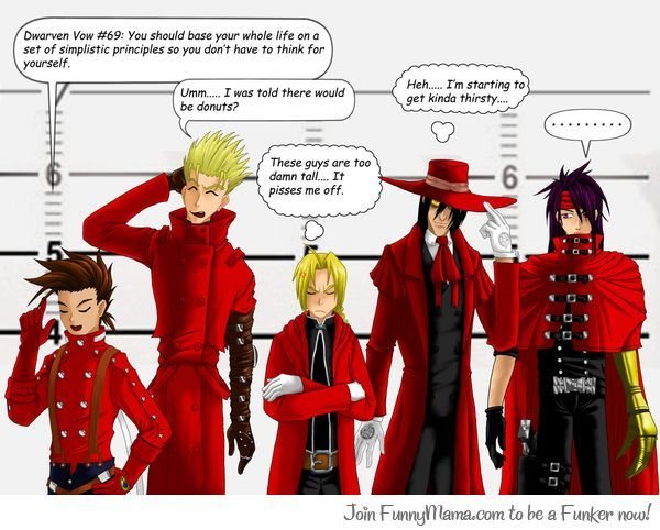 Red Coat Line Up
