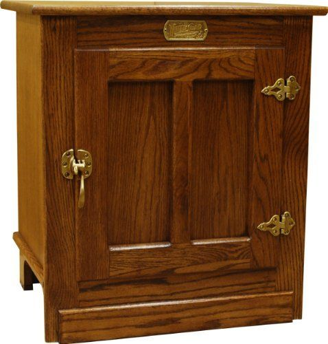 Oak Ice Box End Table By Sure Furniture Design 239 99 This Collection Of Tables And Cabinets Reflects The Ado Walnut Dining Table Vintage Fridge Inside Home