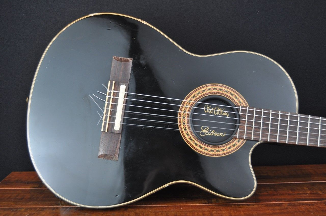 Gibson Chet Atkins Ce Acoustic Electric Guitar Owned By Frank Gambale