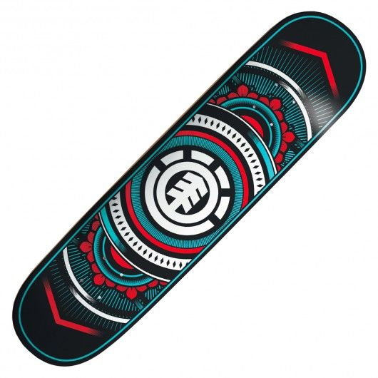 element board hatched planche de skateboard 8 pouces planches et planches de skateboard. Black Bedroom Furniture Sets. Home Design Ideas
