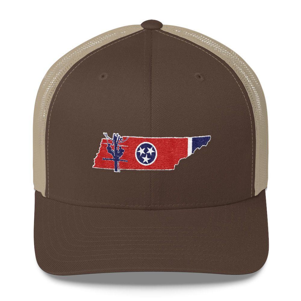 18fcf689 Tennessee Lineman Trucker Cap | Lineman Outfitters | Lineman, Cap, Hats