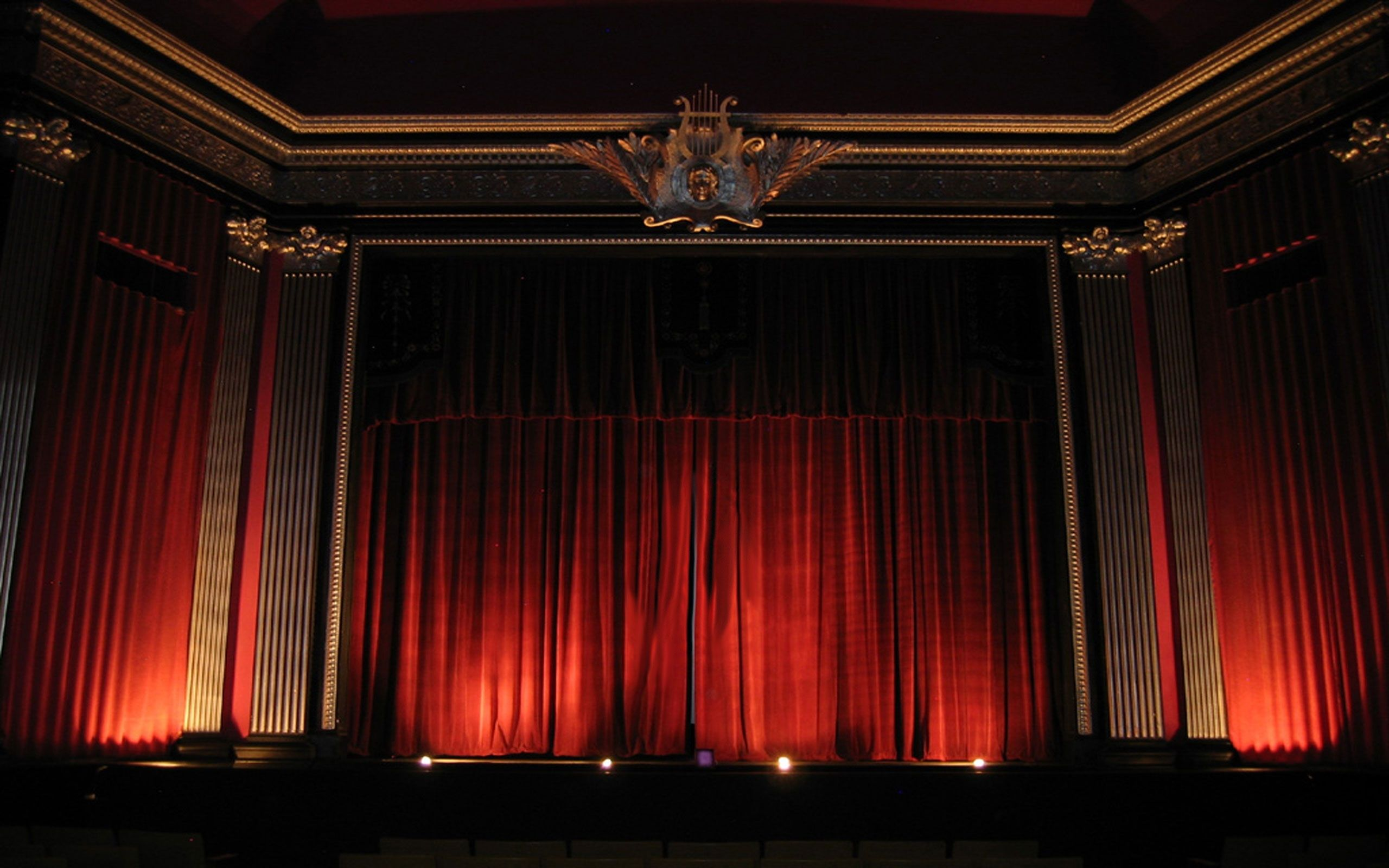 theater curtains and molding -without the ornate capitals | Theater ... for Real Theatre Curtains  55dqh