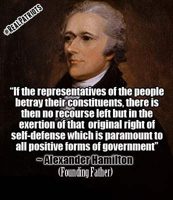 Alexander Hamilton Quotes Alluring Patrioticquotes Alexander Hamilton Quote Founding Father Source