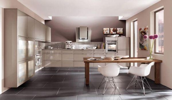 Eckküche Modernes Design-Nobilia-deutsche Qualität Küche - nobilia küchenfronten farben