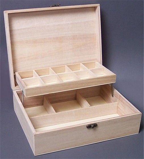 Krabica na šperky bez zrkadla