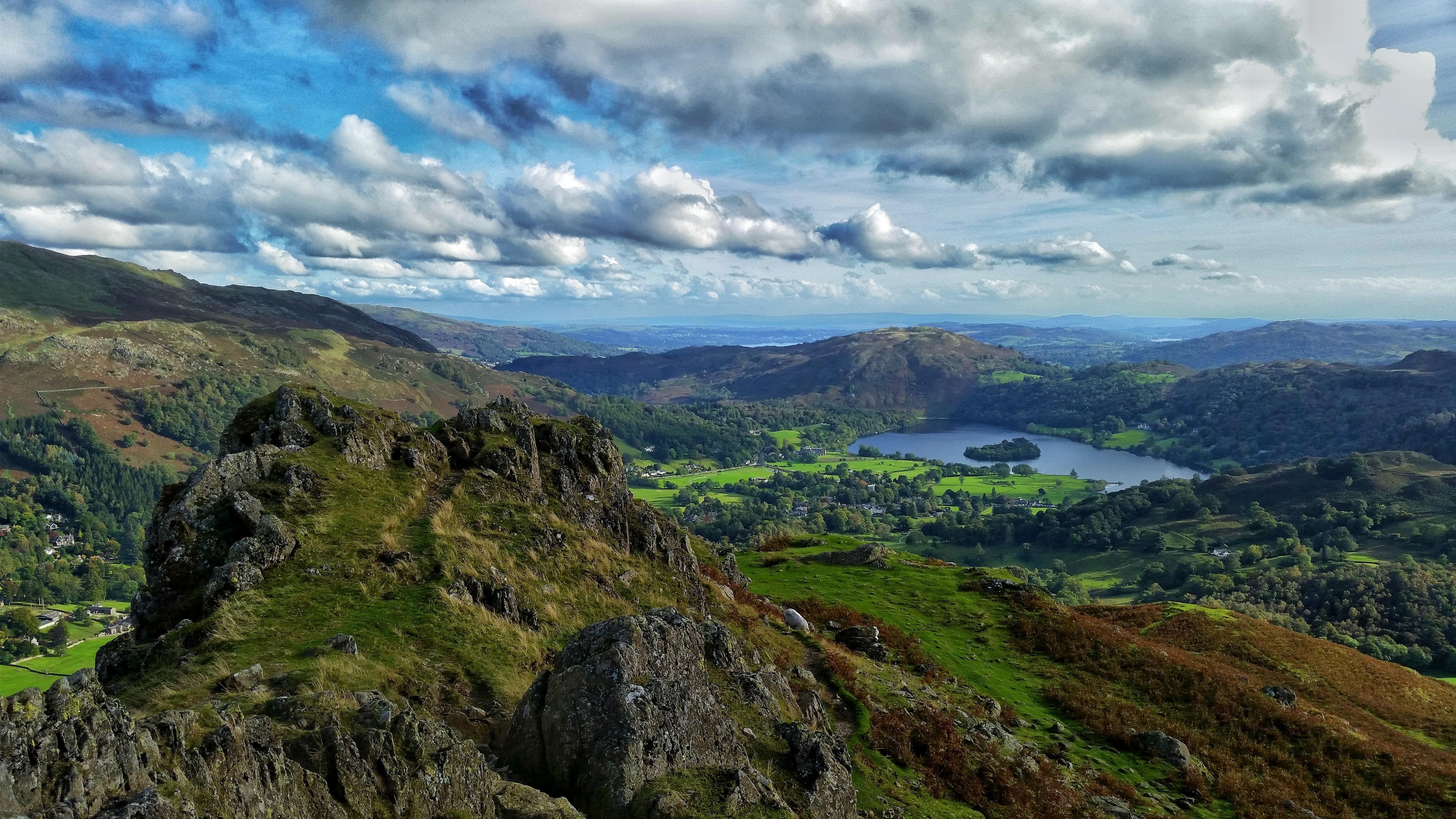 Lake District National Park Cumbria England Oc 5312x2988 Http Ift Tt 2yz4kvj Lake District National Park Lake District Landscape Pictures
