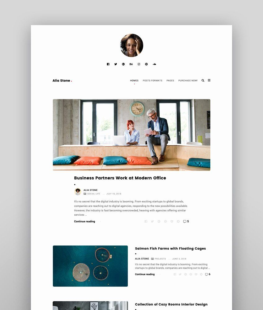 Best Squarespace Template For Designers Unique 25 Clean Wordpress
