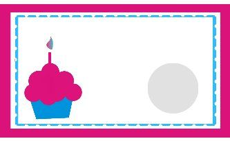 Birthday Scratch Off Template Party Favors Pinterest Scratch - Blank birthday card template 2