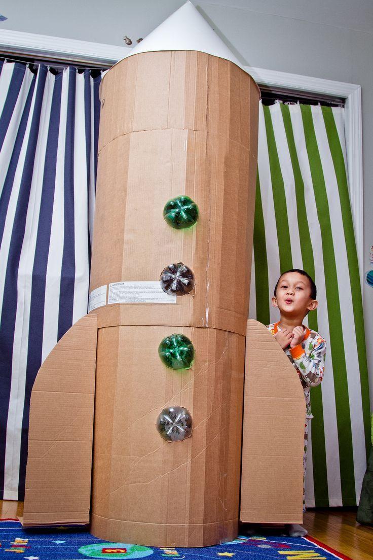 kids cardboard spaceship google search mission to mars