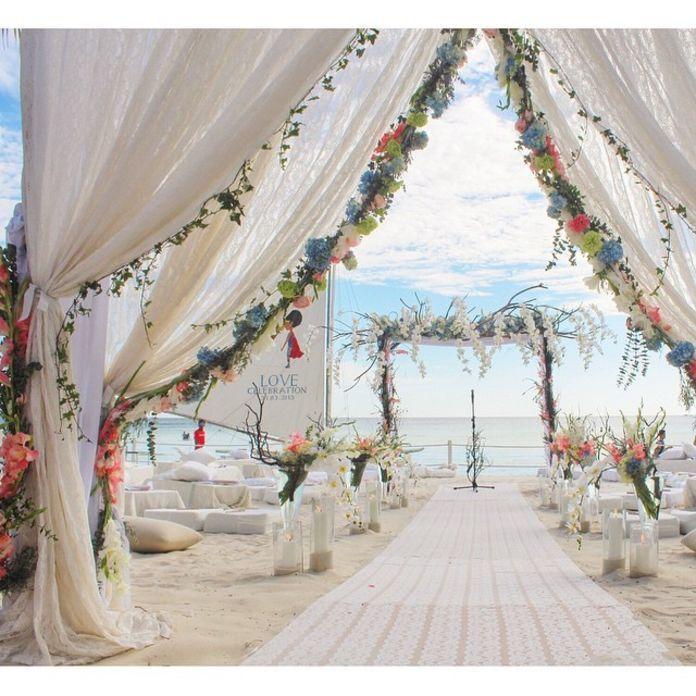 Laid Back Beach Wedding Ide Dekorasi Ide Dekorasi