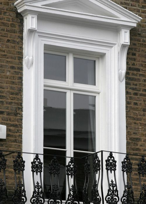 Traditional victorian casement design from wood window for Sash window design