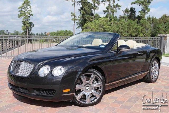 2007 Bentley Continental Gt Gtc Convertible 2 Door Bentley Continental Bentley Continental Gt 2007 Bentley Continental Gt