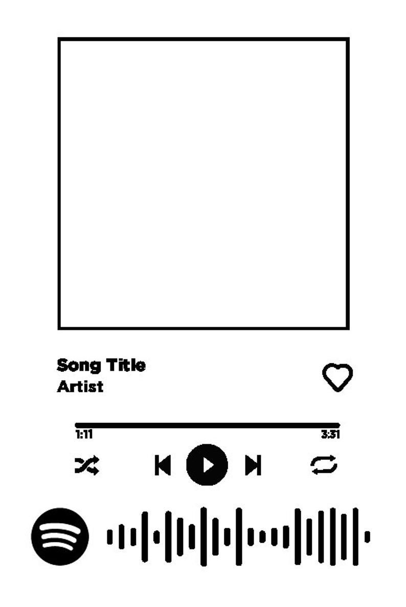 spotify song plaque with instructions song code file glass tile song picture spotify glass in 2021 songs spotify design picture song