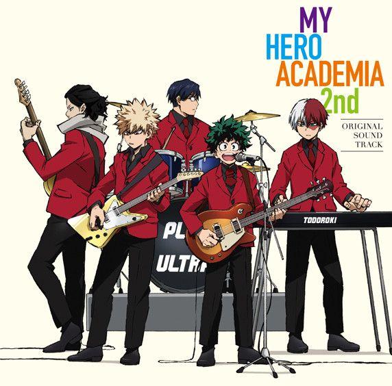 My Hero Academia Anime Season 2 Gets Some Rocking Ost Album Art