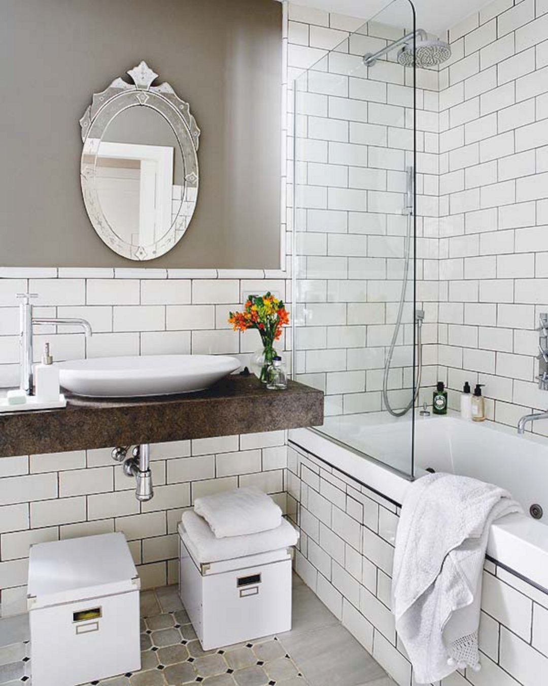 Breathtaking Top 25+ Modern Vintage Bathroom Design And Decor Ideas ...