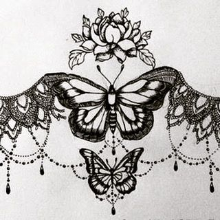 lace sternum tattoo google search tattoos pinterest sternum tattoo tattoo and piercings. Black Bedroom Furniture Sets. Home Design Ideas