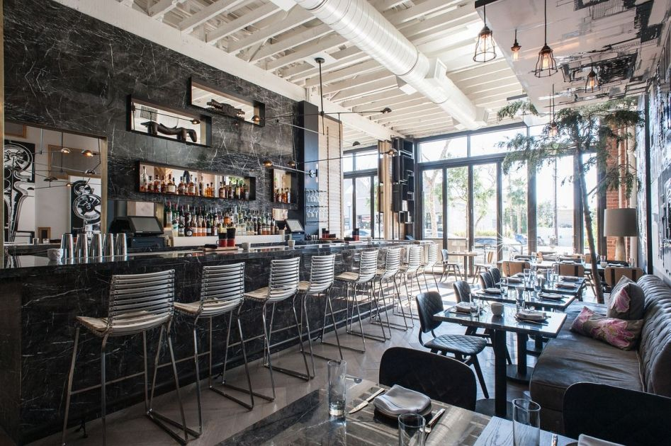 A Rustic American Experience With A Very Californian Feel Full Of Surprises Like African Masks Baskets West Hollywood Weekend In Los Angeles Cool Restaurant