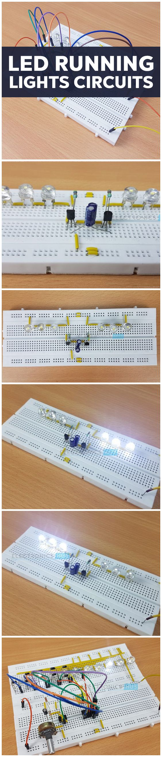Led Knight Rider Circuit Circuits Arduino And Projects Light Keyboard Wiring Diagram