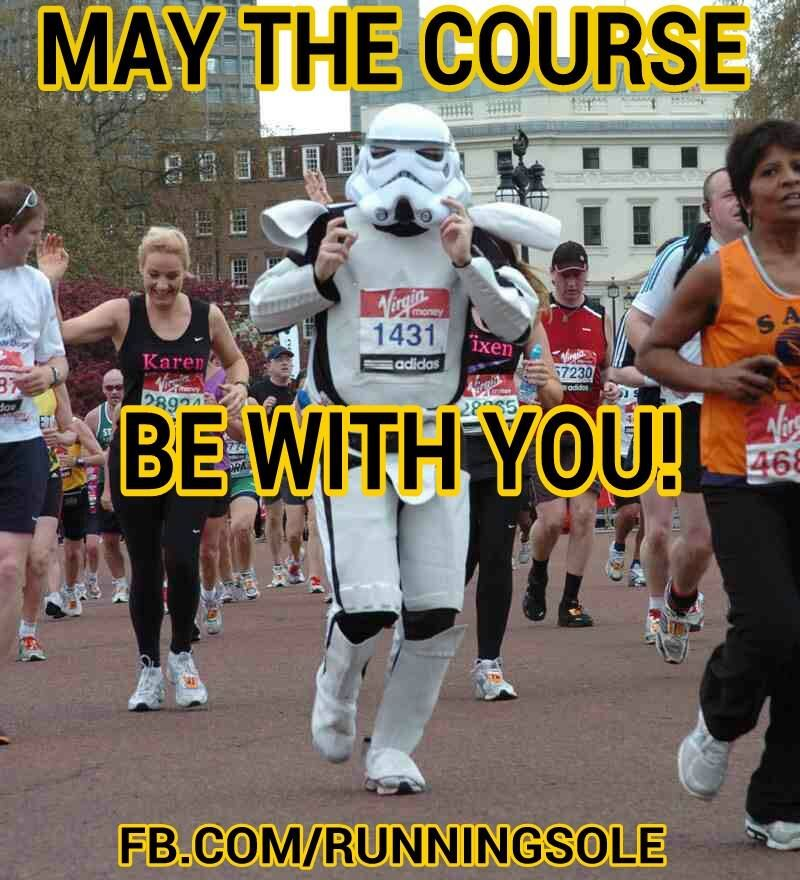 With a finish line far far away..... Running motivation