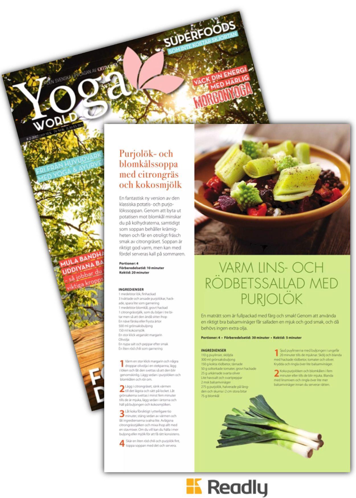 Tips om Yoga World 4 april 2017 sidan 39